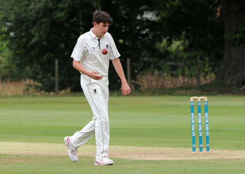 SIX-WICKET HAUL: Haverhill's bowling prodigy Harry Harding recorded his second six-wicket game of the 2017 season in the team's victory over Braintree