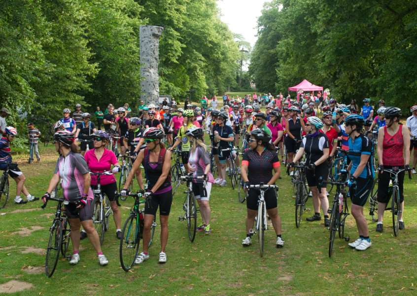 Women on Wheels starting from Nowton Park ANL-150507-213849009