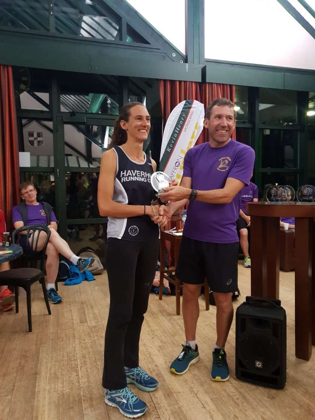 Nicki Davis, Haverhill Running Club member, won Best Female Overall in the 2019 Kevin Henry League as club claimed second overall. Picture: HRC (16360016)