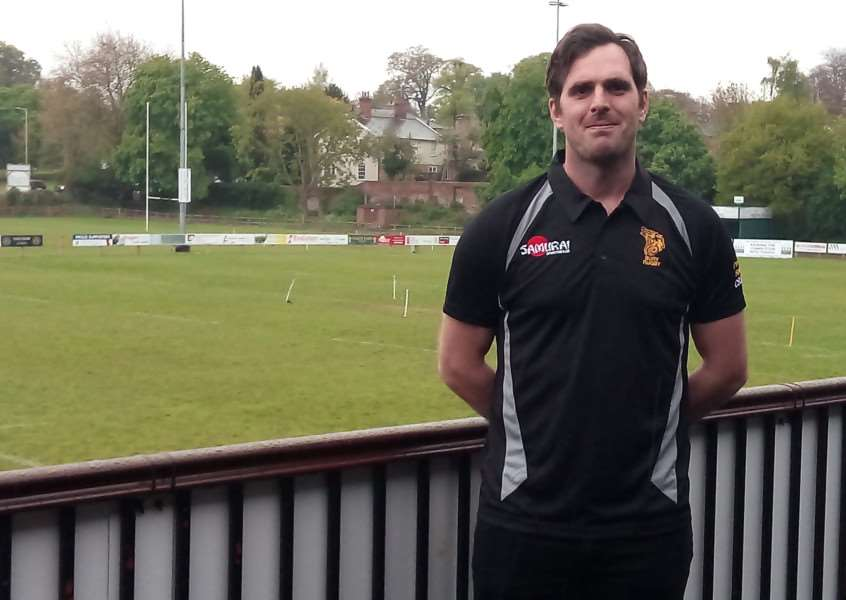MOVING ON: Head coach Jon Clarke has left Bury St Edmunds RUFC