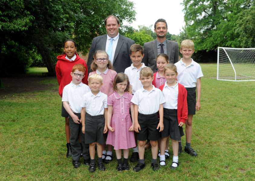 St Gregory's CEVA Primary School has improved in its latest Ofsted inspection and is now rated 'Good'.'''PICTURE: Mecha Morton