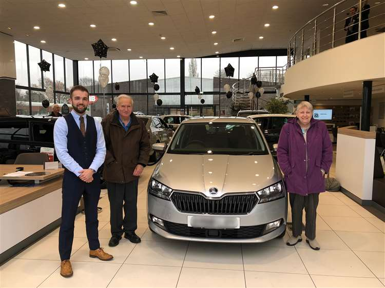 The Car Group >> Peter And Pauline Banham Celebrate 46 Years Of Skodas After