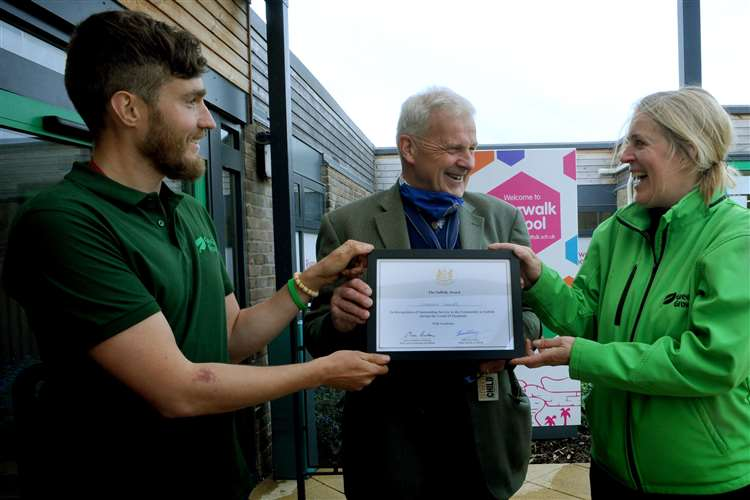 Greener Growth have been working with Riverwalk School for four years. Picture: Andy Abbott.
