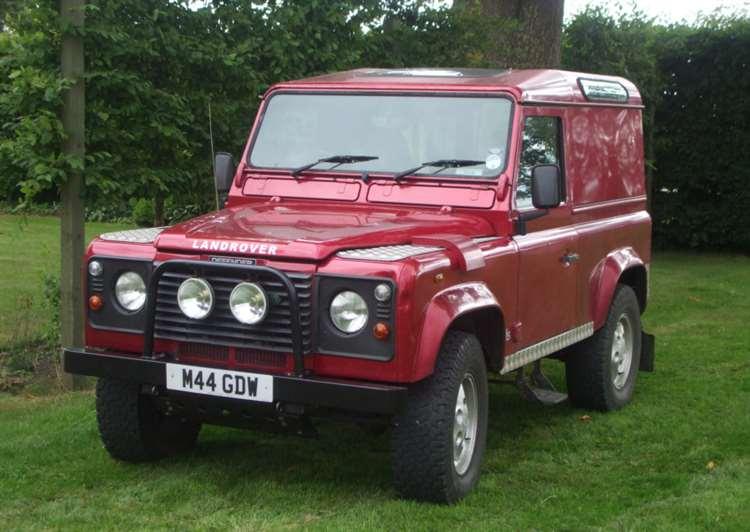 Land Rover stolen from Alpheton