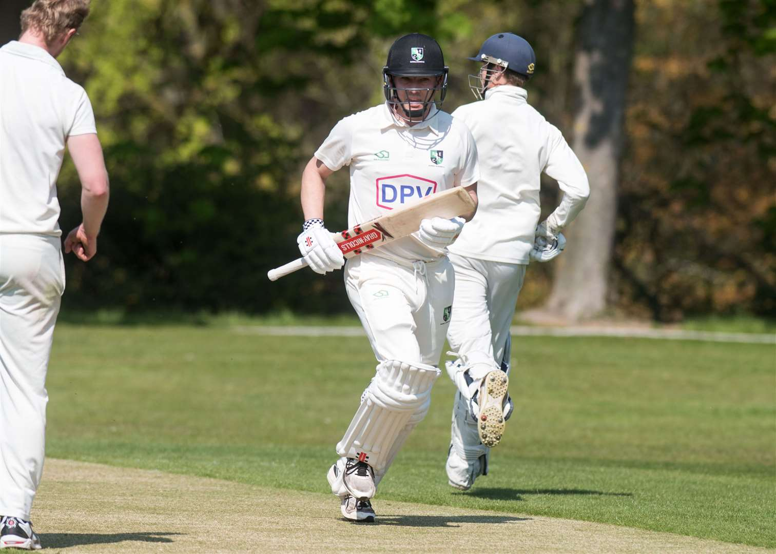 CRICKET: Burwell & Exning v Vauxhall Mallards Tim Catley scored 103 for B&E Picture by Mark Westley. (8955529)
