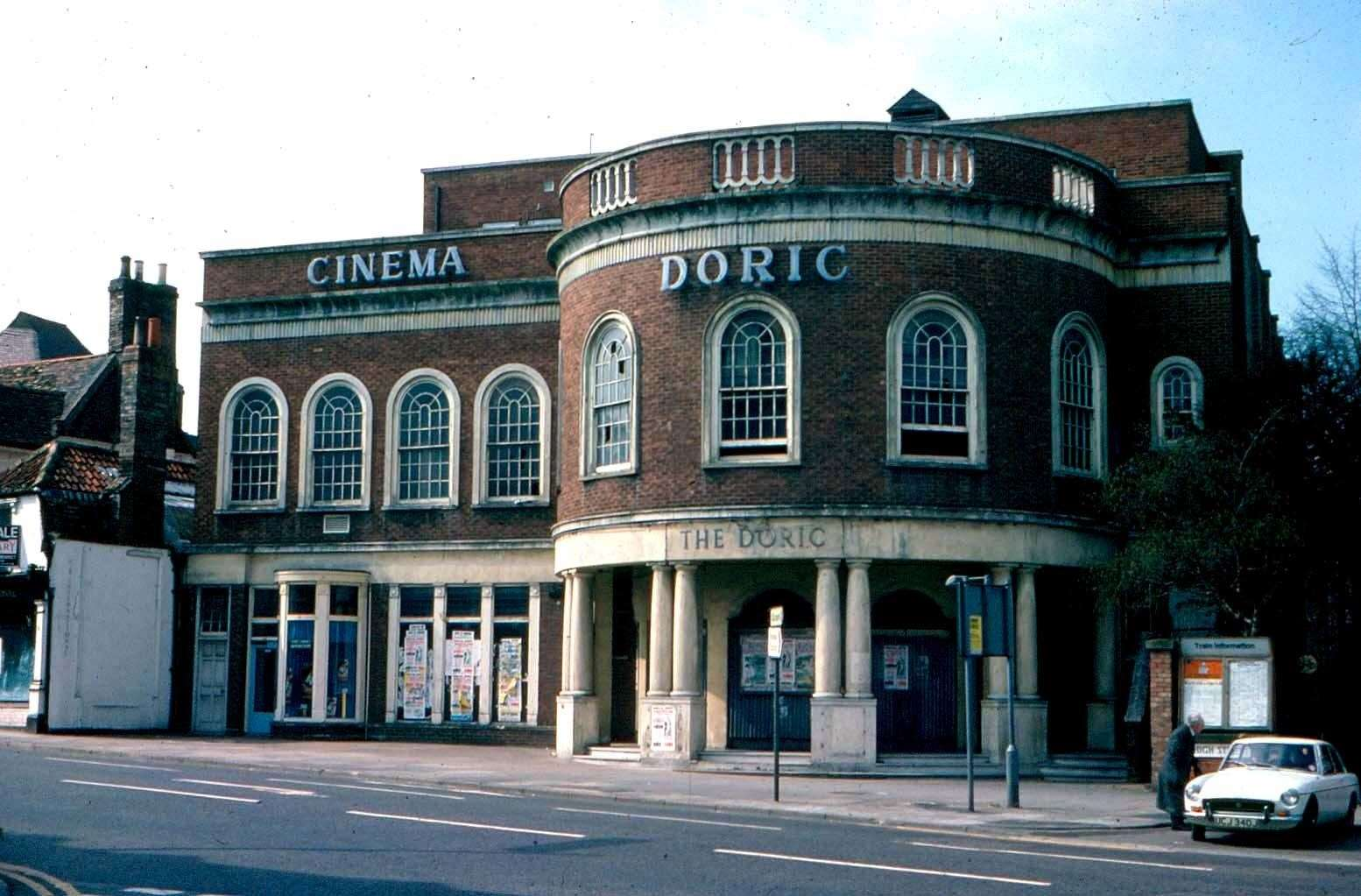 Doric Cinema in Newmarket. Picture: Pete Norman Collection