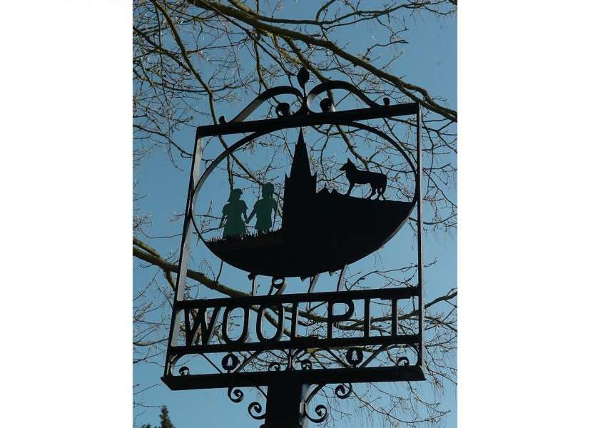 Woolpit sign