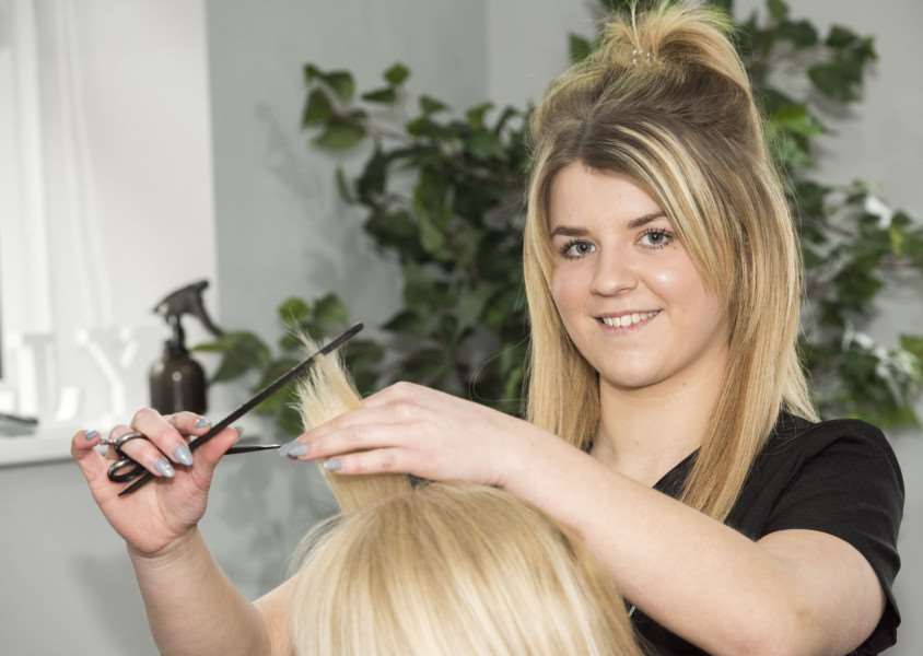 Shelly Southgate has opened a new hair salon - The Salon - in Elmswell. She is holding an open day on March 5 to let people see inside and see what's on offer. 'Picture Mark Westley