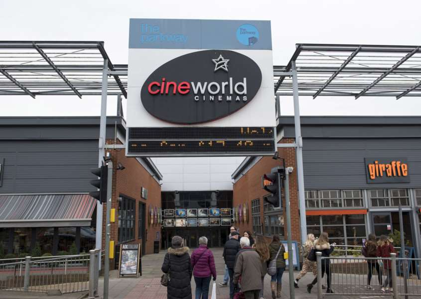 Cineworld where Fatima Douieb worked for Future Cleaning Services ANL-161220-175656009