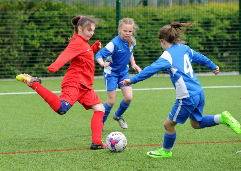 AWARD: Match action from the recent Girls Advancing Coaching Centre matches held at The New Croft