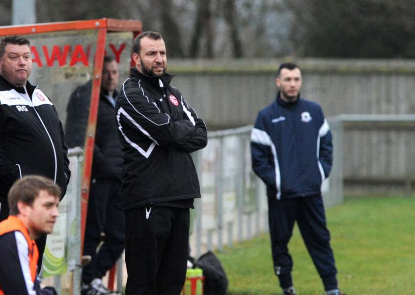 MANAGEMENT CHANGES: Ben Cowling and Rod Gaffan are no longer part of the management team at Haverhill Rovers