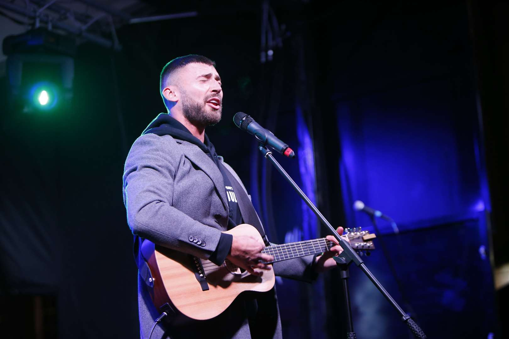 Maidstone Lights Switch on 2019..Jake Quickenden.Jubilee Square, Maidstone.Picture: Andy Jones. (35433063)