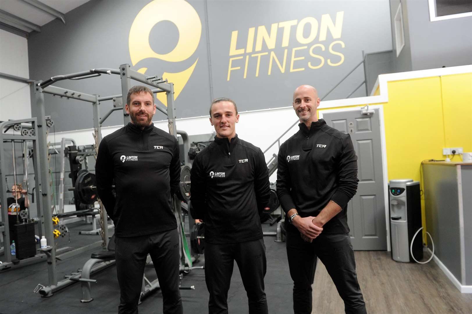 Mark Lovell and two friends have taken over Triple J Fitness and renamed it Linton Fitness. ..Pictured; Mark Lovell, Callum Slater Joe George (Triple J Fitness) ...PICTURE: Mecha Morton... .. (4511048)
