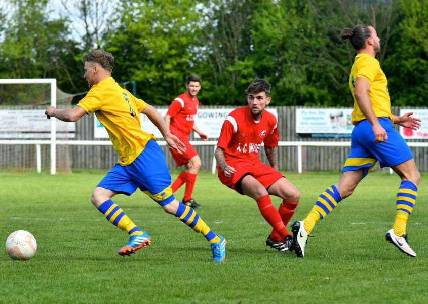 CHANGES AHEAD: Match action from a Thurlow Nunn League Premier Division game between Ely City and Newmarket Town last season