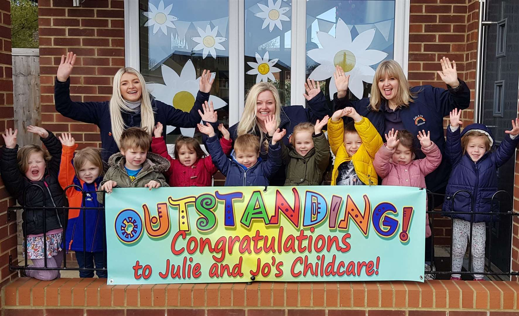 Julie & Jo's Childcare in Linton have been rated 'outstanding' by Ofsted. Contributed picture
