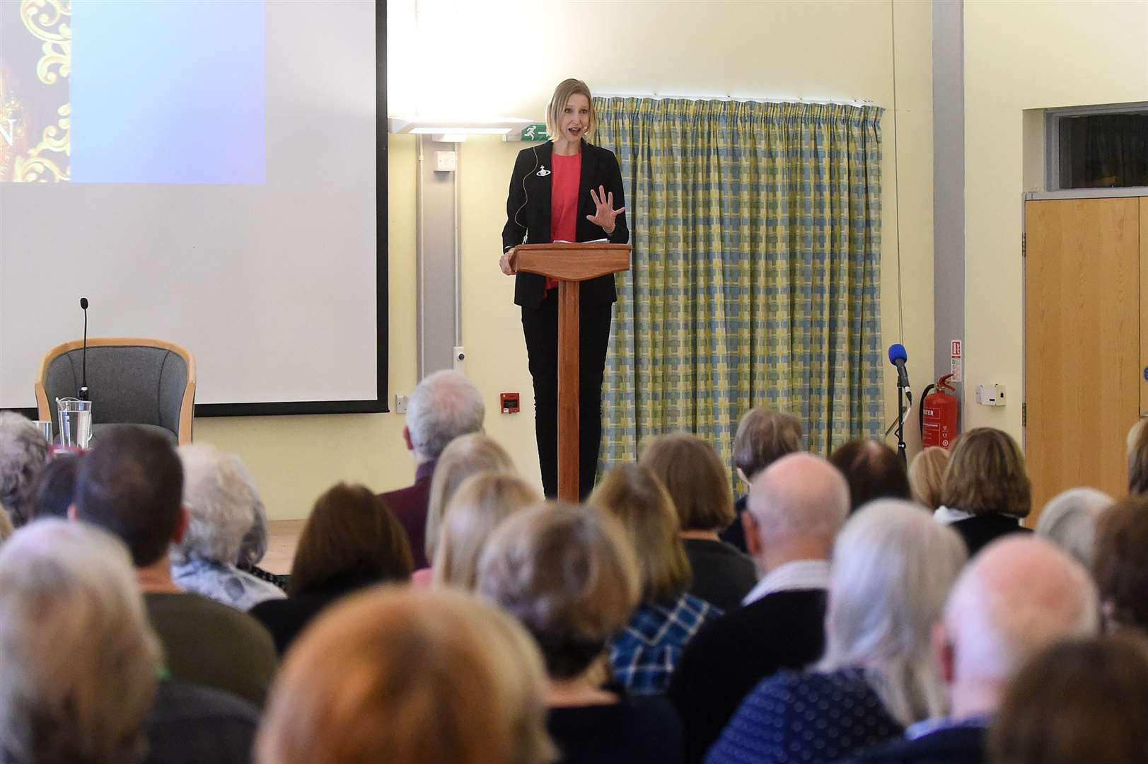 Lavenham Literary Festival...Pictured: – Tracy Borman ....PICTURE: Mecha Morton .... (21838177)