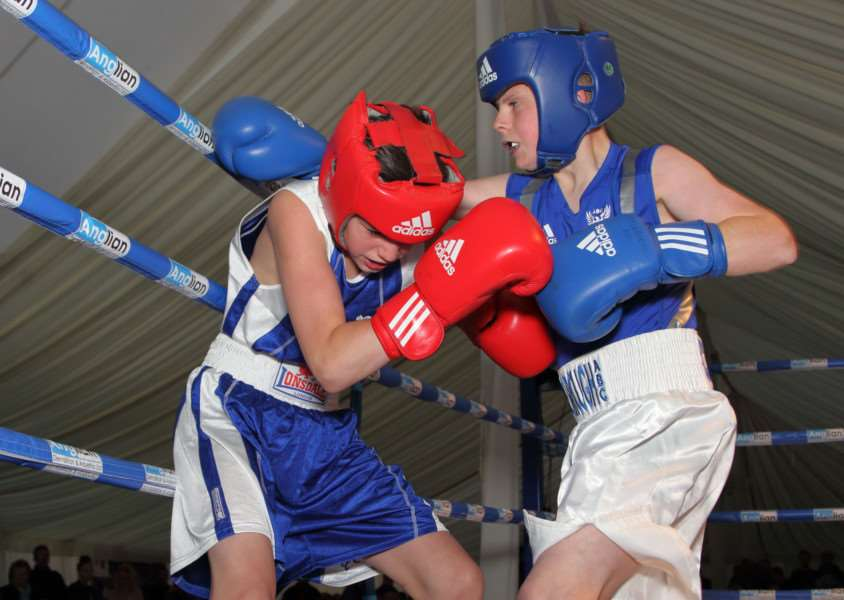 GREAT PERFORMANCE: Thetford's Charlie Connaughton put on an impressive display against Johnny Delaney
