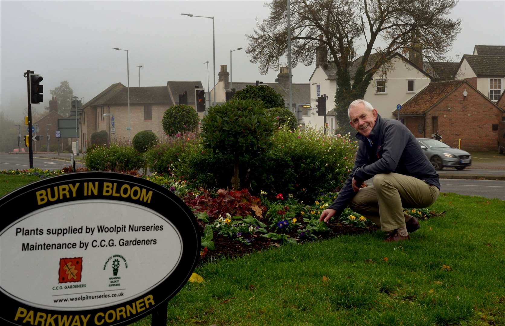 New co-ordinator of Bury in Bloom David Irvine. Picture: Andy Abbott