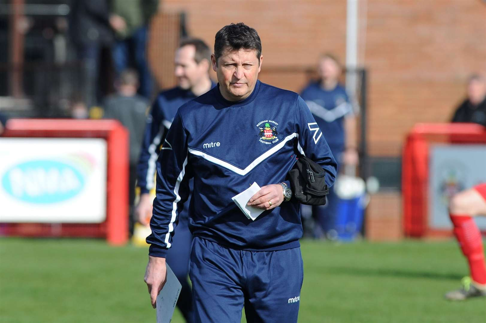 Needham manager Richard Wilkins
