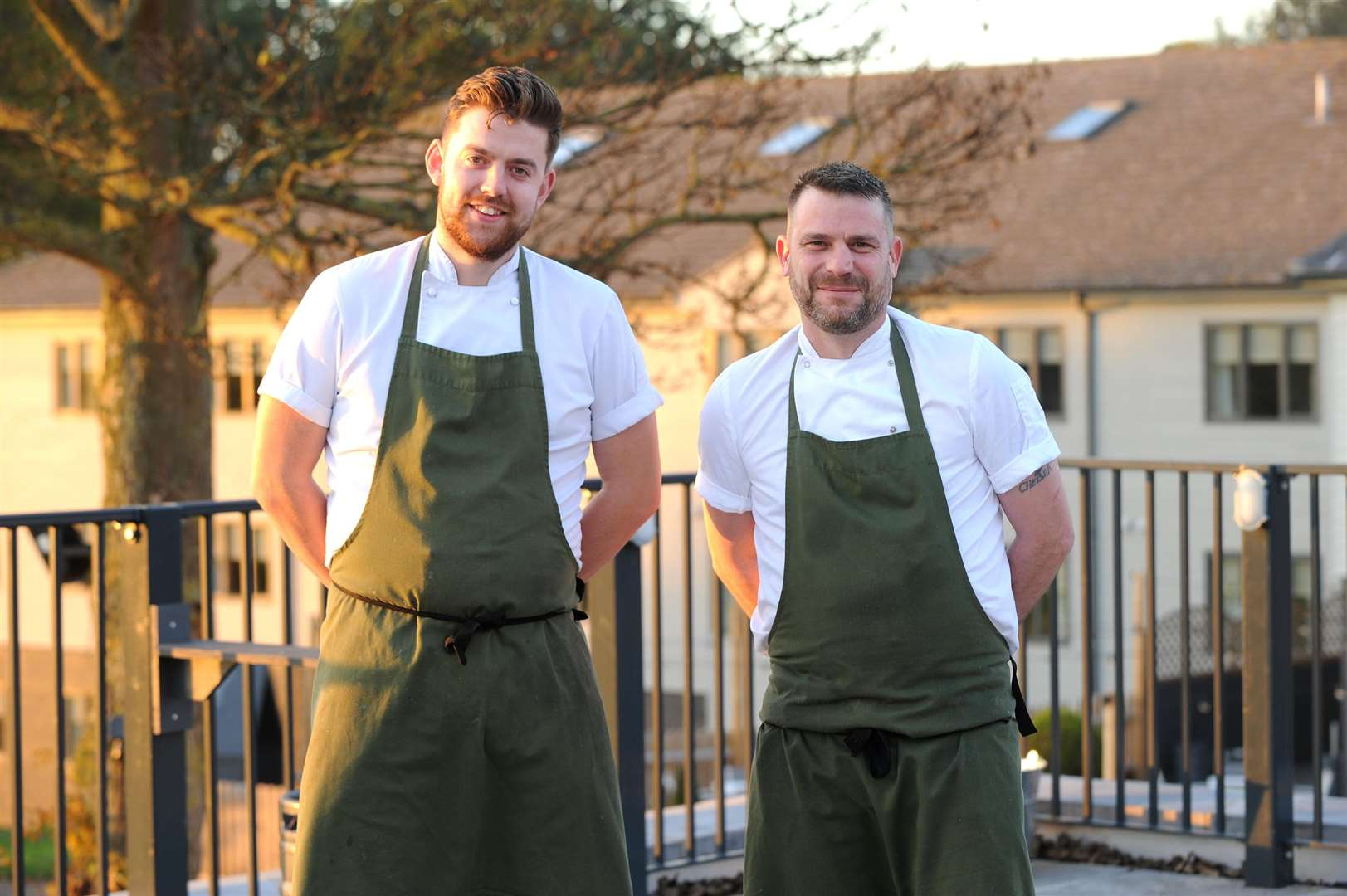 All Saints hotel - Chefs James Carn and David Coyne PICTURE: Mecha Morton (5419443)