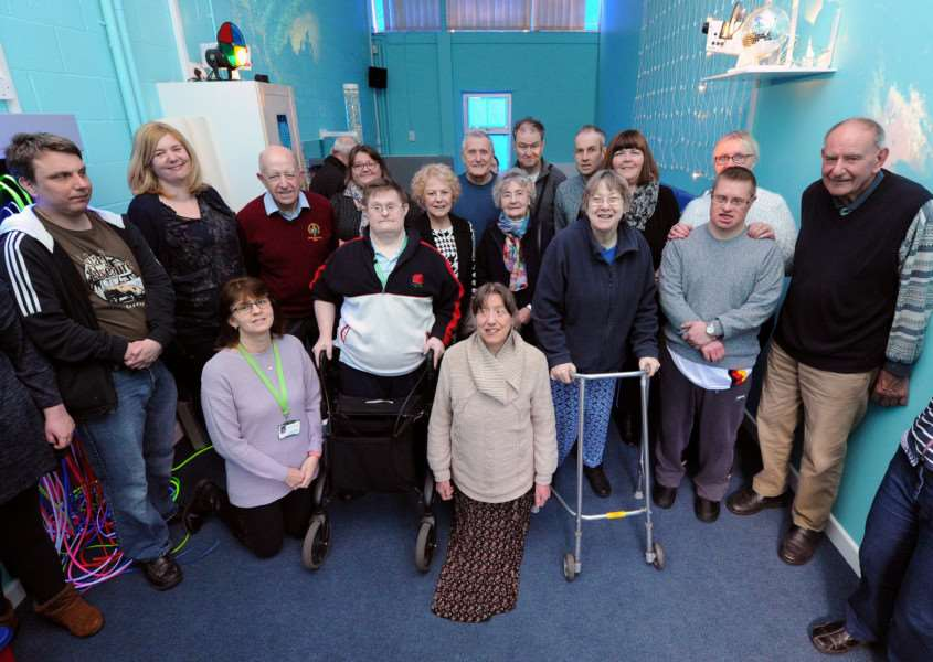 Grand Opening of new multi-sensory room at Leading Lives Sudbury Community Hub''''PICTURE: Mecha Morton