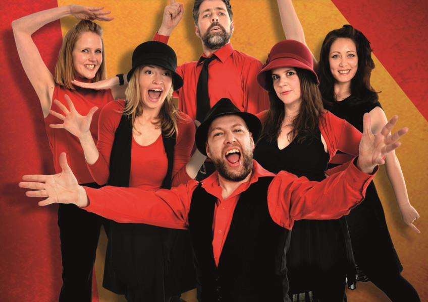 The Showstoppers will perform an improvised musical at the Bury St Edmunds Theatre Royal on January 21. Photo submitted NNL-160114-110257001