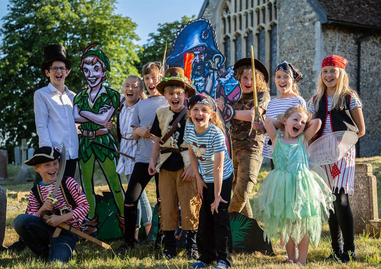 Children in Pakenham get ready for Peter Pan open theatre event