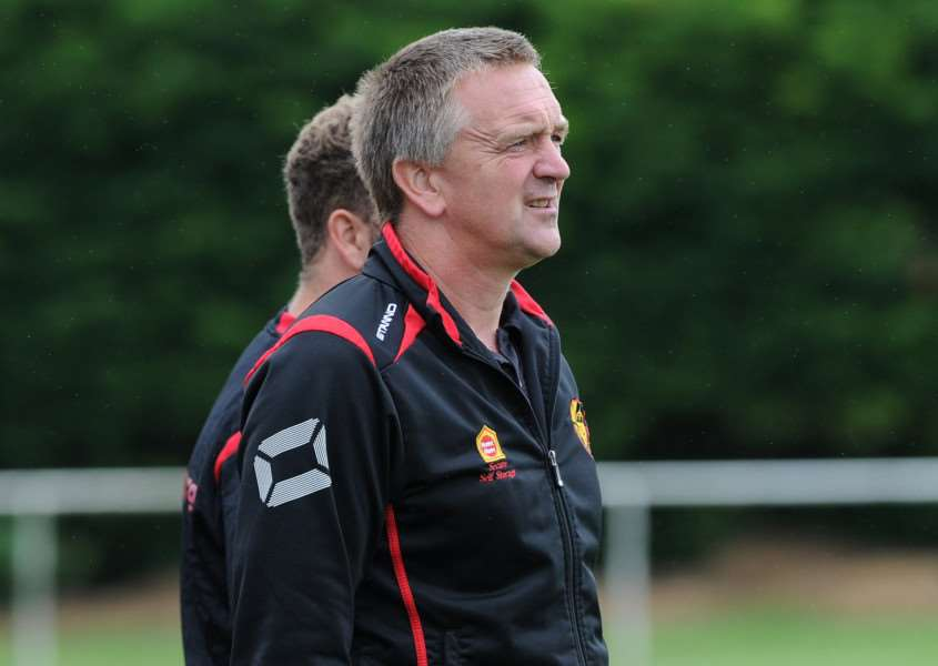 START AGAIN: Mildenhall manager Dean Greygoose