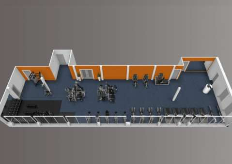 Artist impression of the layout of the new Anglia Community Leisure gym in Mildenhall, to be called The Gym Mildenhall ANL-150113-155840001