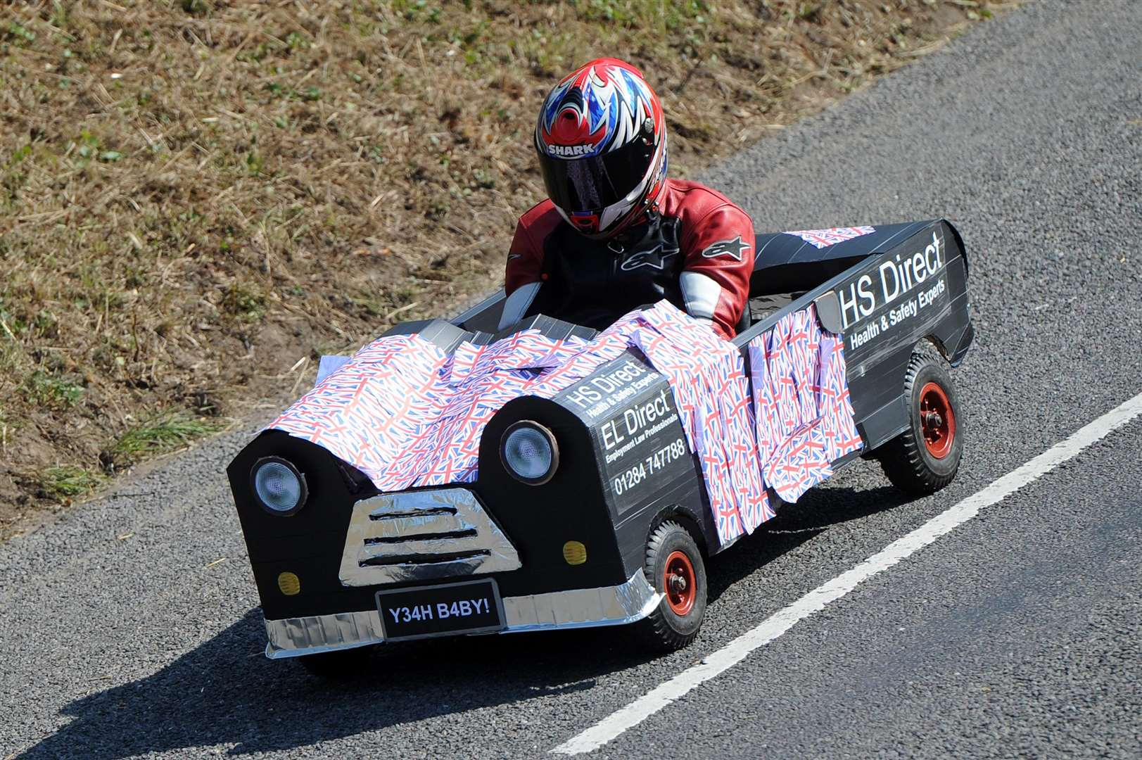 The first ever Soap Box Challenge in aid of the My WiSH Charity's Every Heart Matters appeal......PICTURE: Mecha Morton... .. (3920351)