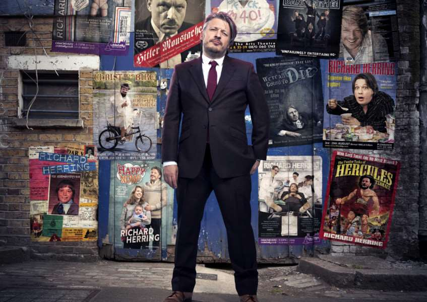 Richard Herring performs his stand up show The Best at the Theatre Royal ANL-161117-161518001