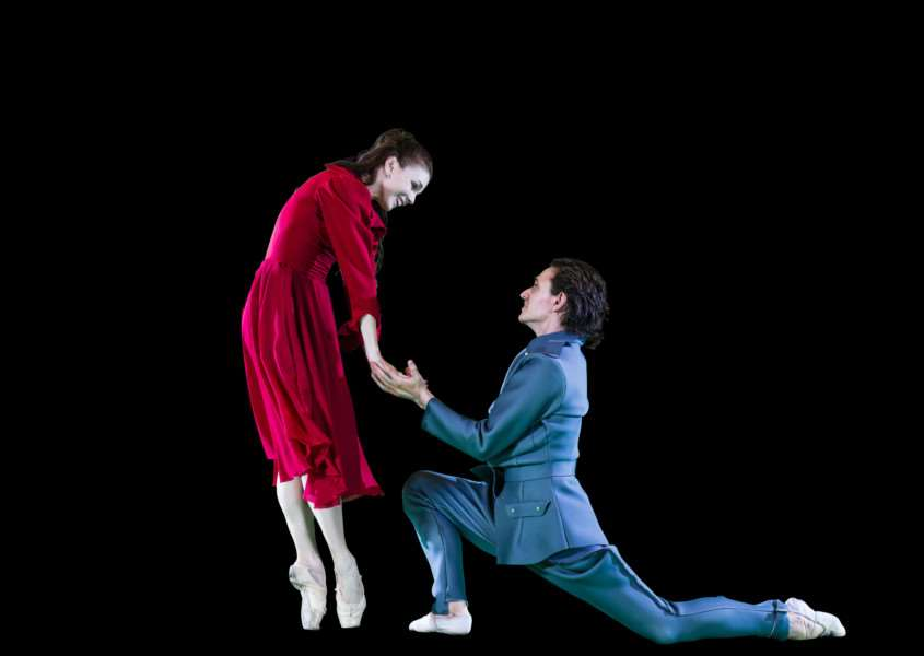 Sergei Polunin and Natalia Osipova in Symphony to a Lost Generation ANL-160518-141901001