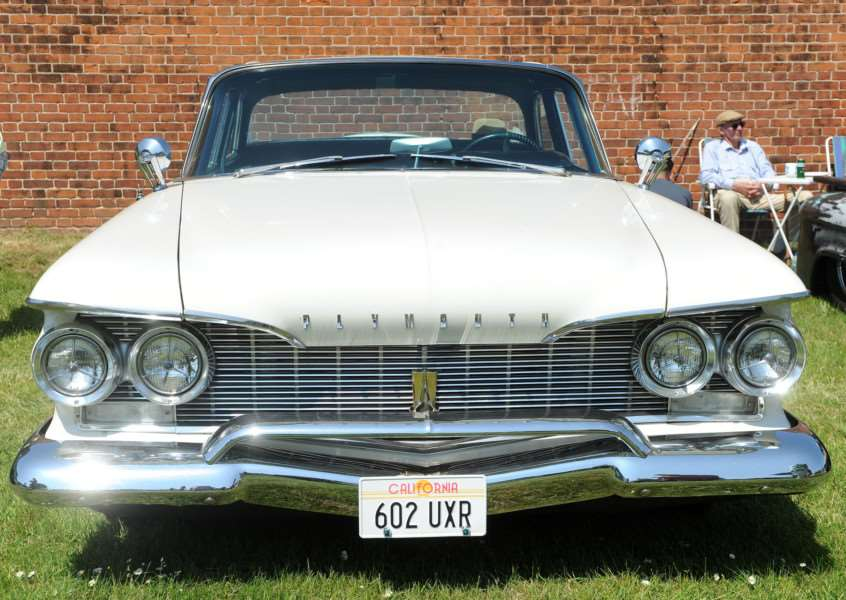 1960 Plymouth Fury, the car which inspired Stephen King's Christine ANL-160606-092129009