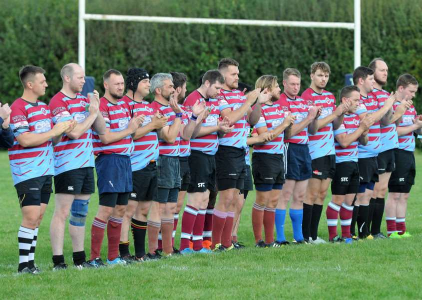 FEELING AGGRIEVED: Haverhill's players were left feeling hard done by after facing Bury's third string
