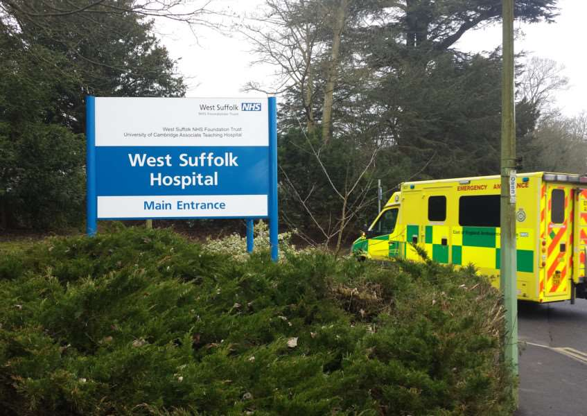 West Suffolk Hospital in Bury St Edmunds ANL-150319-095542001