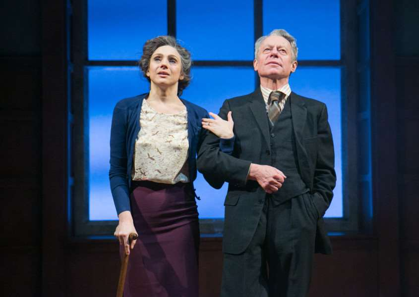 Amanda Ryan and Stephen Boxer in Shadowlands ANL-160605-125152001