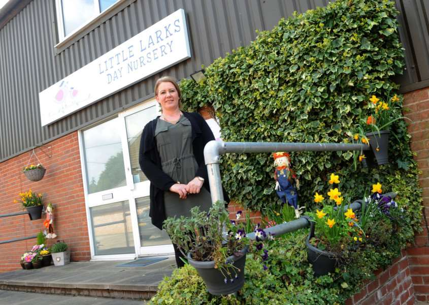 Donna Cooper is to open Little Larks Day Nursery'''PICTURE: Mecha Morton