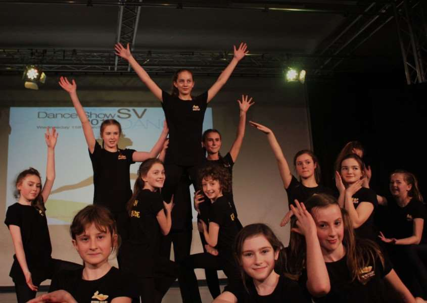 Stour Valley Community School's annual dance show