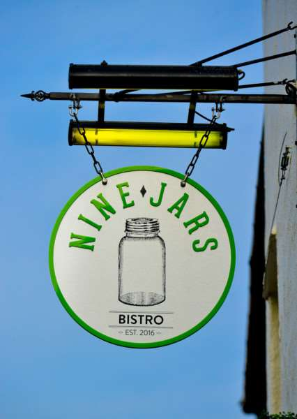 The Nine Jars Bistro in High Street, Haverhill