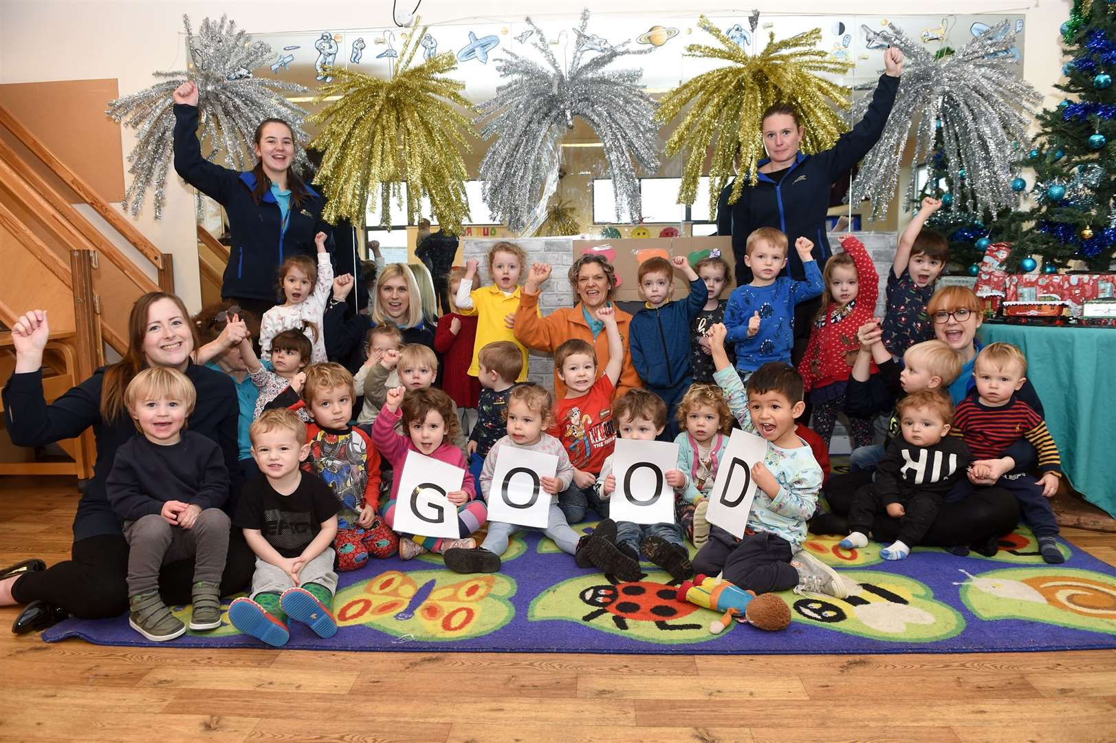Golden Apples Day Nursery had its first Ofsted inspection since the nursery changed ownership in Oct, 2017 and it is 'good' across the board. Picture by Mecha Morton