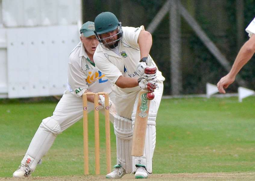 GOING DOWN: Jason Wade was unable to help Long Melford survive in Division Two