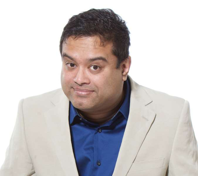 Paul Sinha will present the awards evening on October 14 ANL-140703-111636001