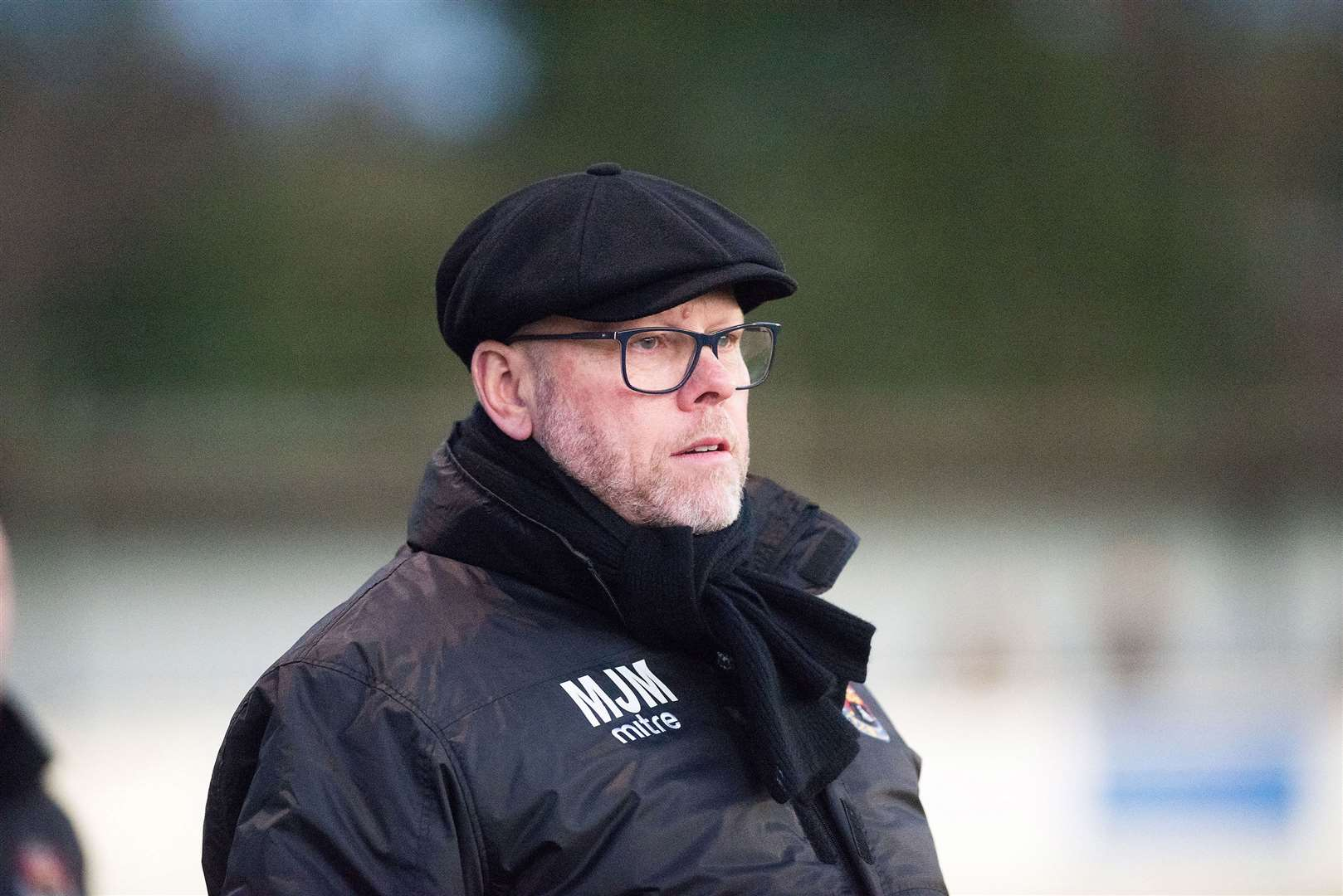 Former AFC Sudbury manager Mark Morsley on the sidelinesPicture Mark Westley