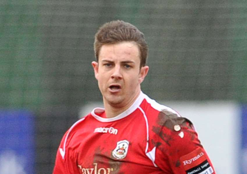 ON THE MOVE: Ollie Fenn has joined Bury on loan from Needham Market
