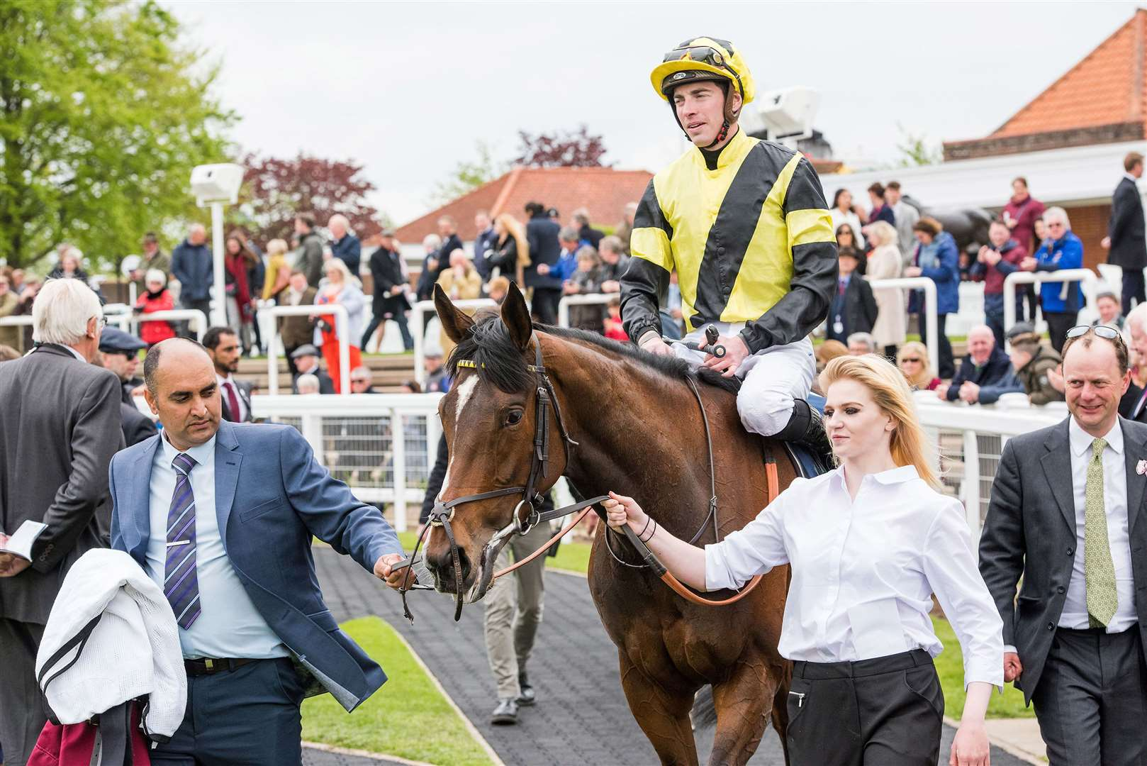 1000 Guineas Day At Newmarket Rowley Mile Charm Spirit Dahlia Stakes (Group 2) (Fillies & Mares).6. Worth Waiting.Winning jockey: James Doyle.Winning trainer: David Lanigan Picture by Mark Westley. (9718930)