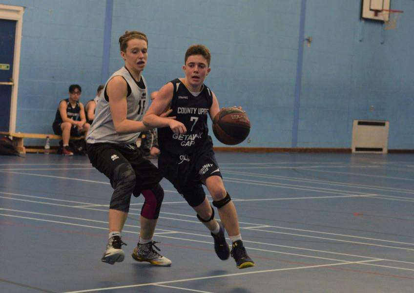 TOO SHARP: County Upper Under-16 player Phil Ennis-Bugg in action during the weekend defeat against the Essex Blades.
