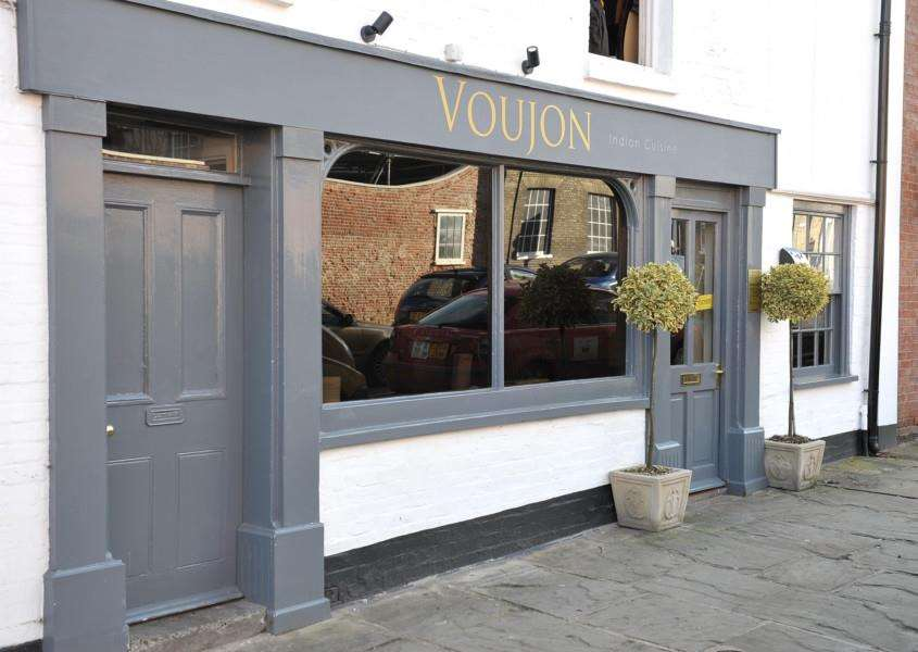 Voujon indian restaurant, Mustow Street, Bury St Edmunds.