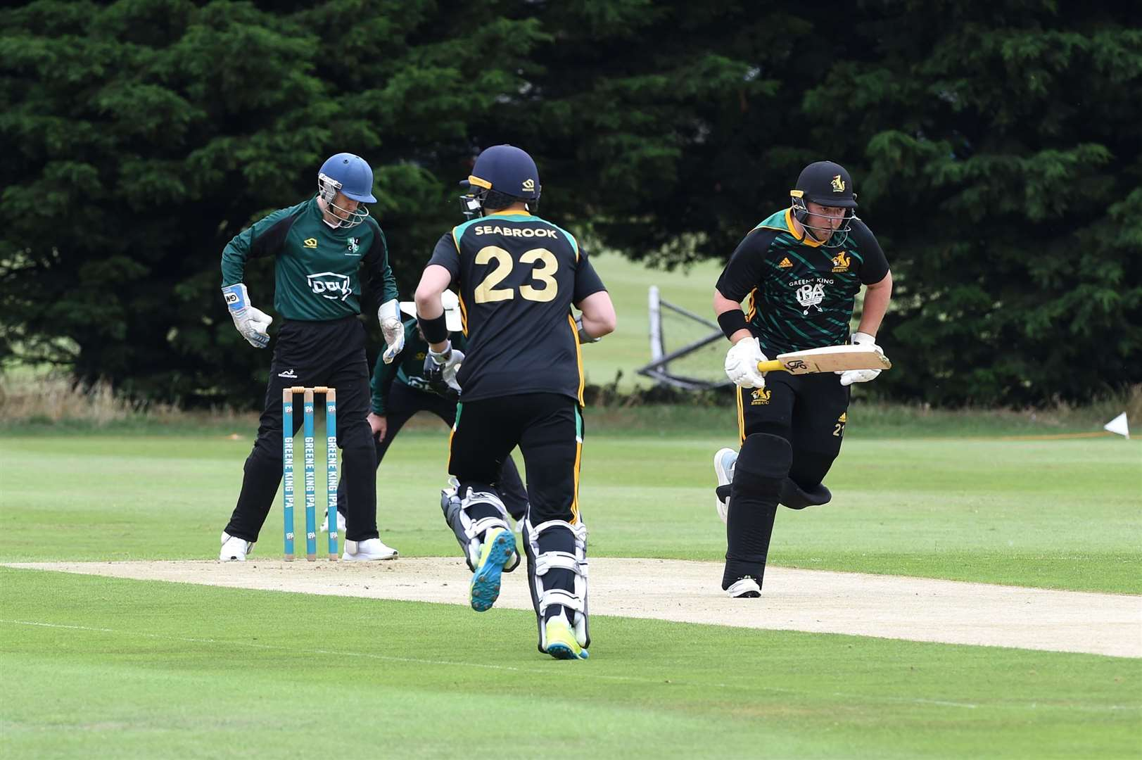 CRICKET - Bury St Edmunds (B) v Burwell & Exning (BE)..Pictured: ...PICTURE: Mecha Morton.... (38778637)