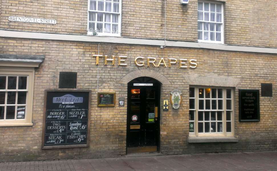 The Grapes is hosting a guest ale in Corky's memory
