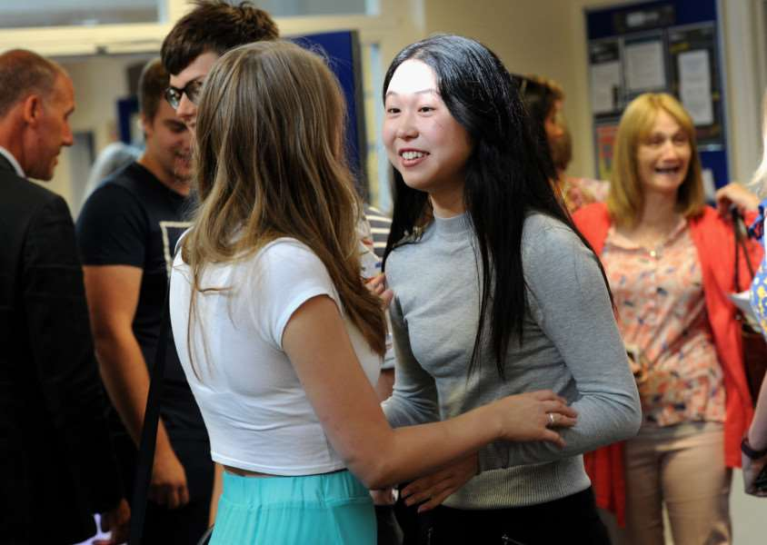 A-Level Results - King Edwards ANL-160818-105454009